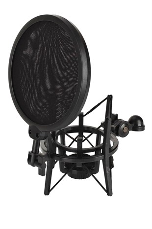Lastvoice Sh-101 Pop Filterli Shock Mount