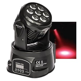Eclips Micro Wash - 7x3 Watt Moving Head Robot Işık Sistemi
