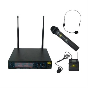 West Sound TM-200EY - EL ve Yaka Tipi Uhf Telsiz Kablosuz Mikrofon